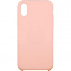 Чехол для iPhone InterStep для iPhone X SOFT-T METAL ADV розовый